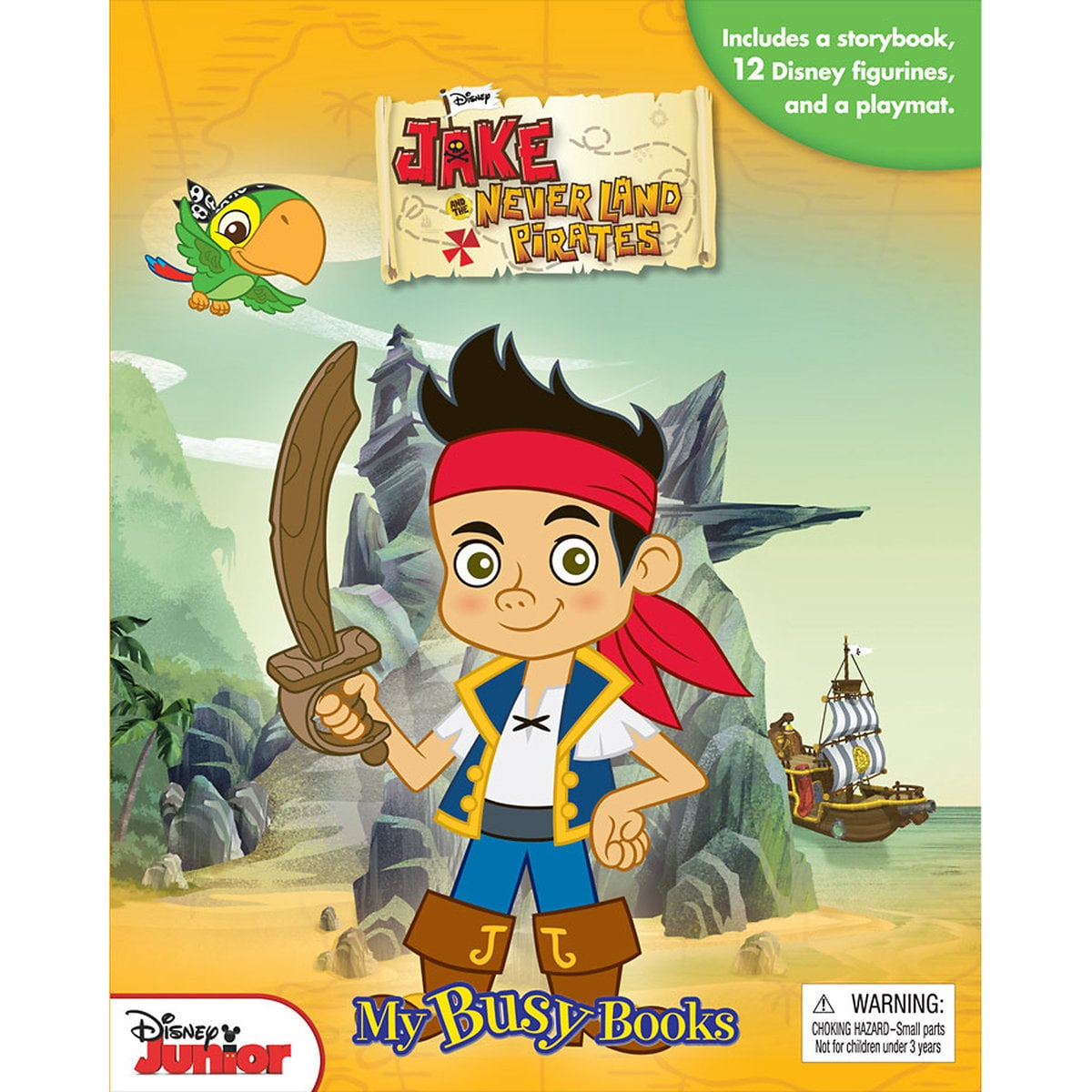 Jake and the Never Land Pirates - My Busy Books | shopDisney