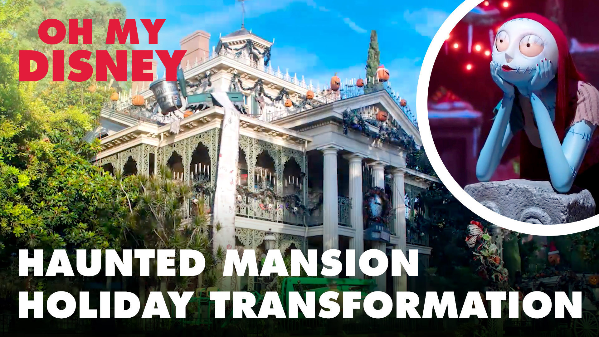 Haunted Mansion Holiday Transformation at Disneyland Resort | Oh My Disney