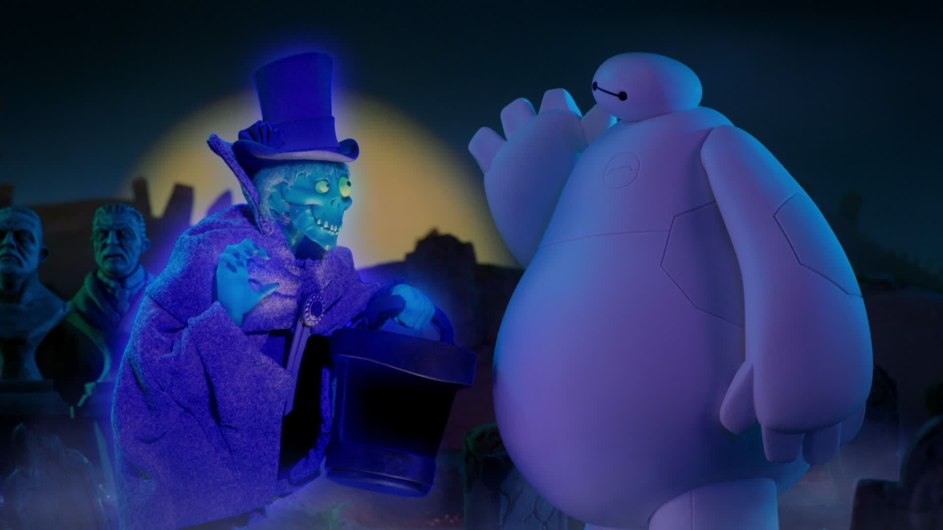 Baymax Sees A Ghost