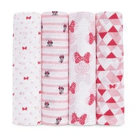 Minnie Mouse Muslin Swaddles Set by aden by aden + anais®
