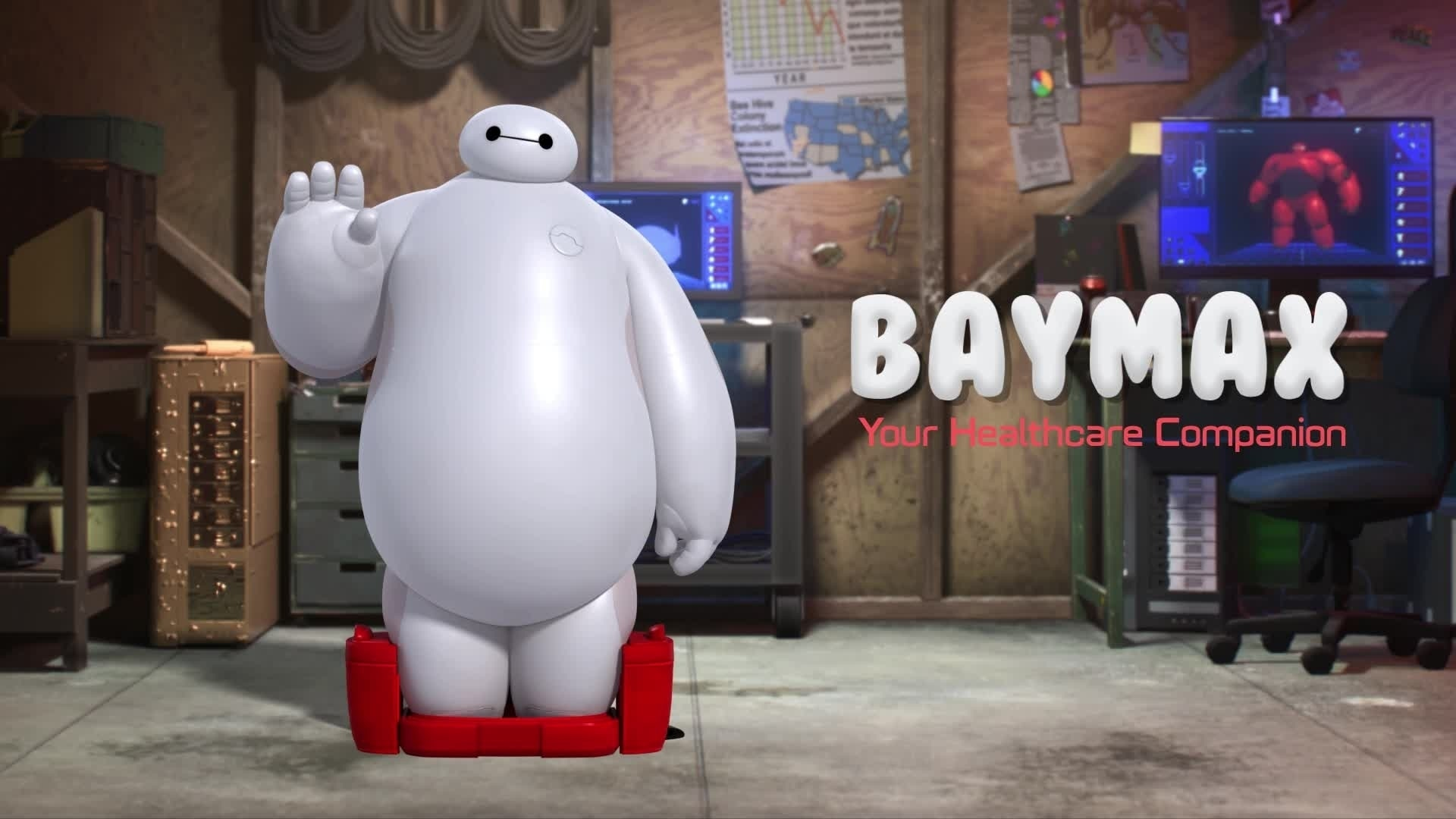 Big Hero 6 Baymax Animation