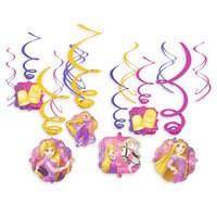 Rapunzel Swirl Decorations Set