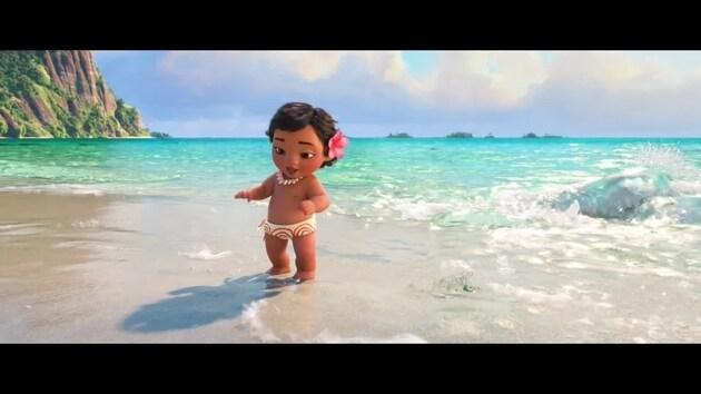 Baby Vaiana Oceania Oceania Disney It Video