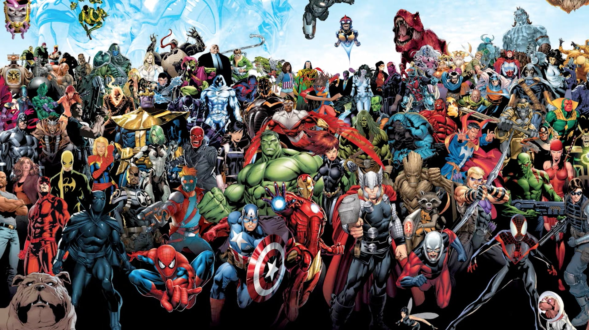 Los Vengadores - Héroes en un minuto