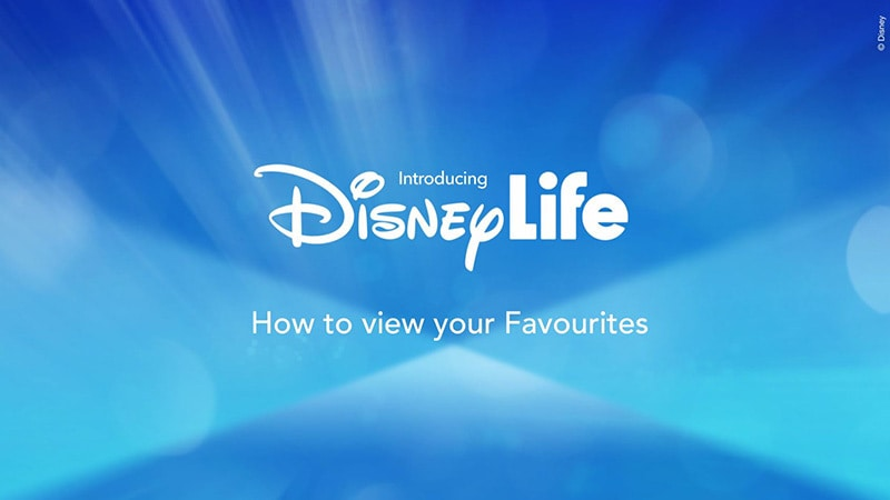How To View Your Favourites List