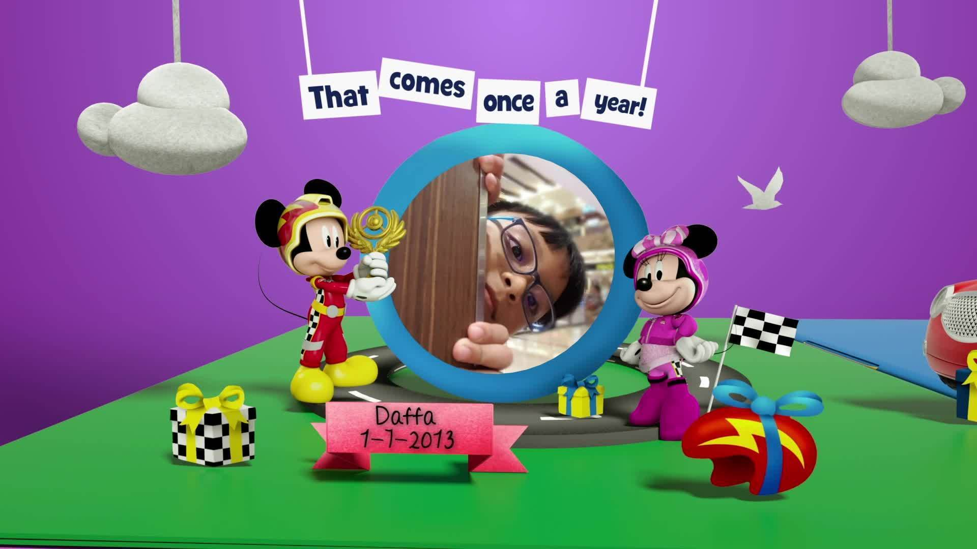 Disney Junior Birthday Book 2020 July Album 1