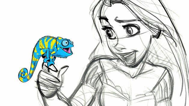 Aprende a dibujar a Pascal - Enredados