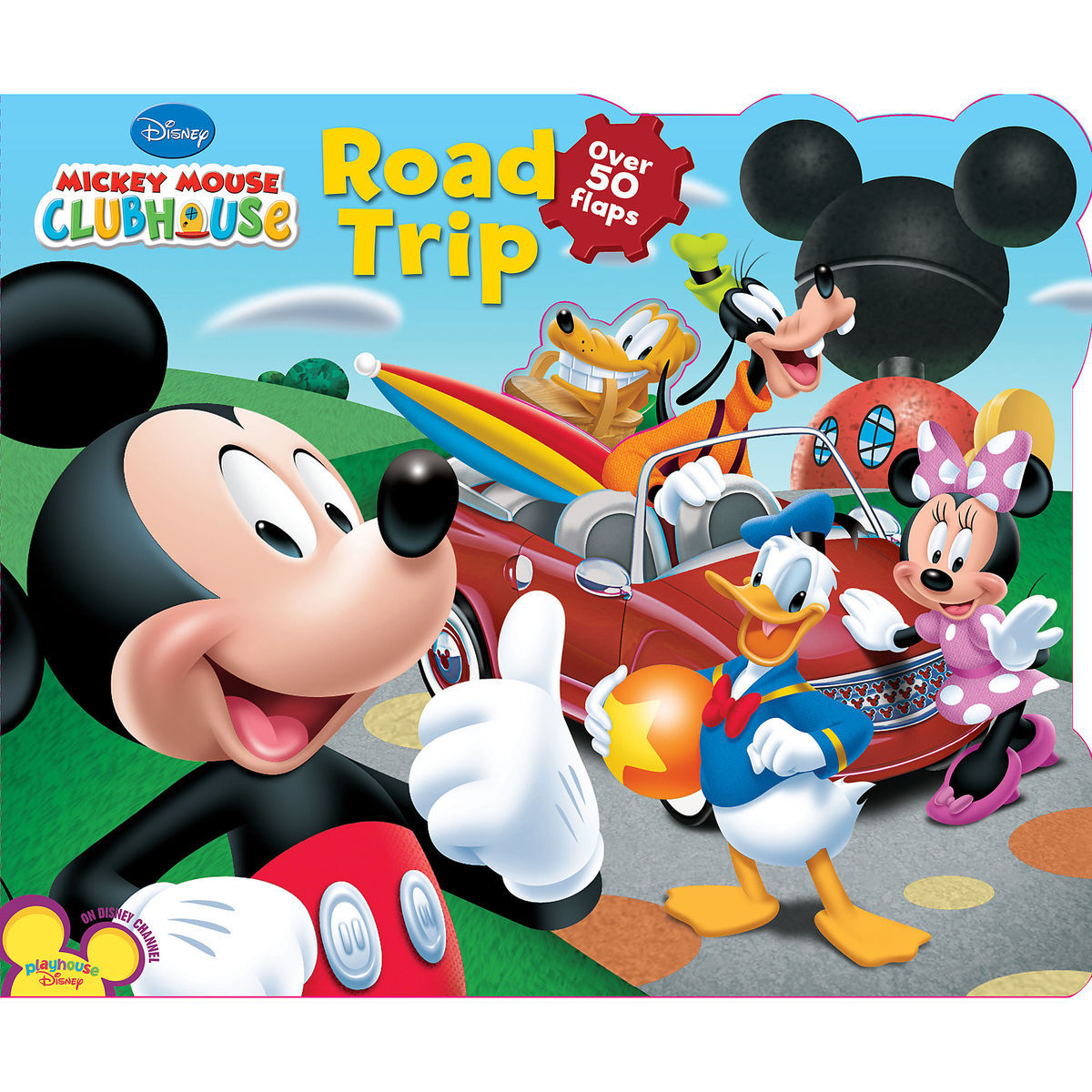 mickey mouse clubhouse road trip book shopdisney