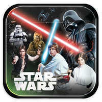 Image of Star Wars Lunch Plates # 1