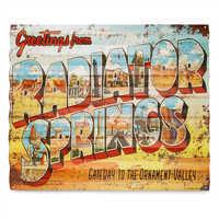 Image of Radiator Springs Metal Sign - Cars # 1
