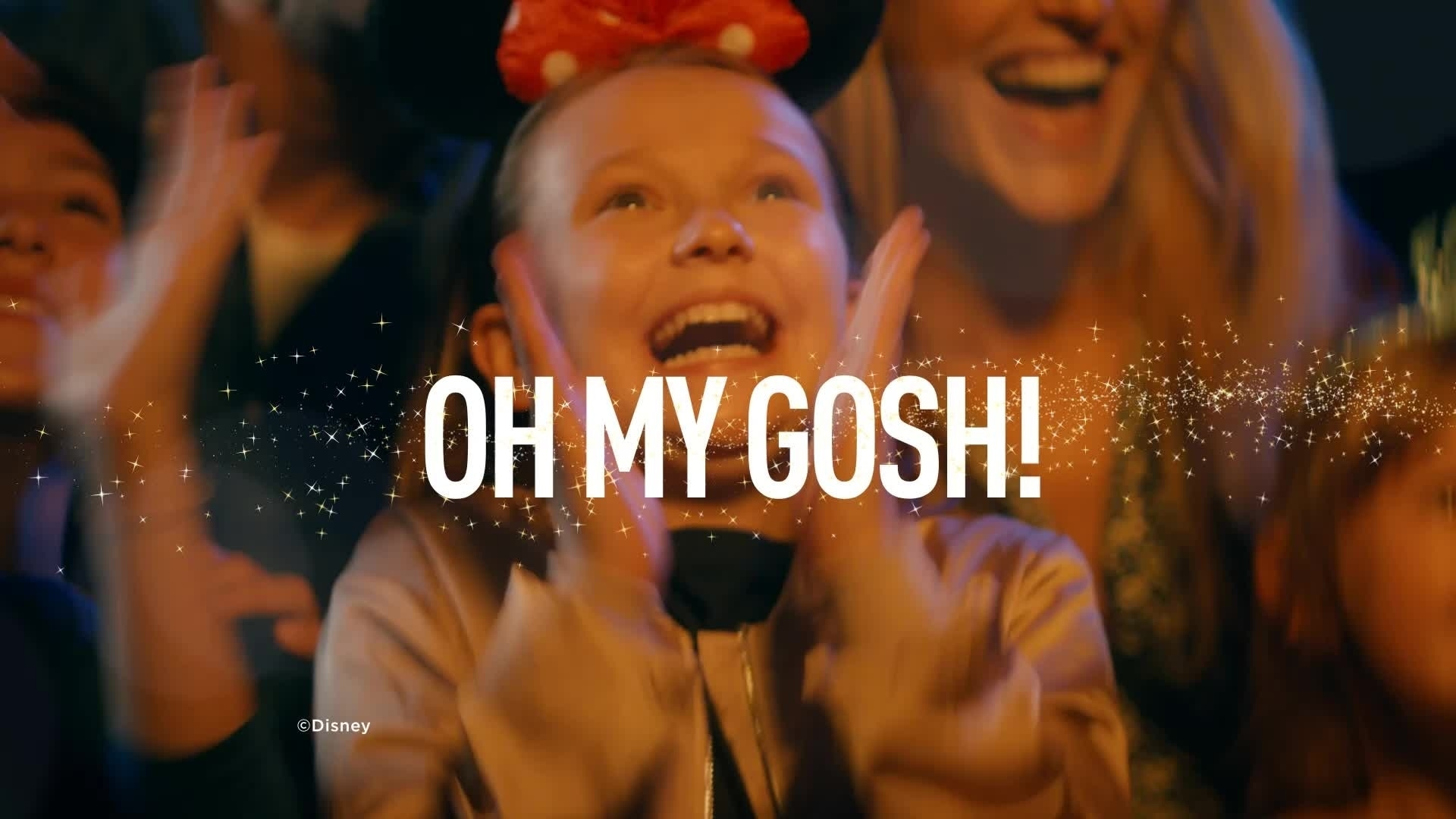 OH MY GOSH DreamsShow - Disneyland Paris