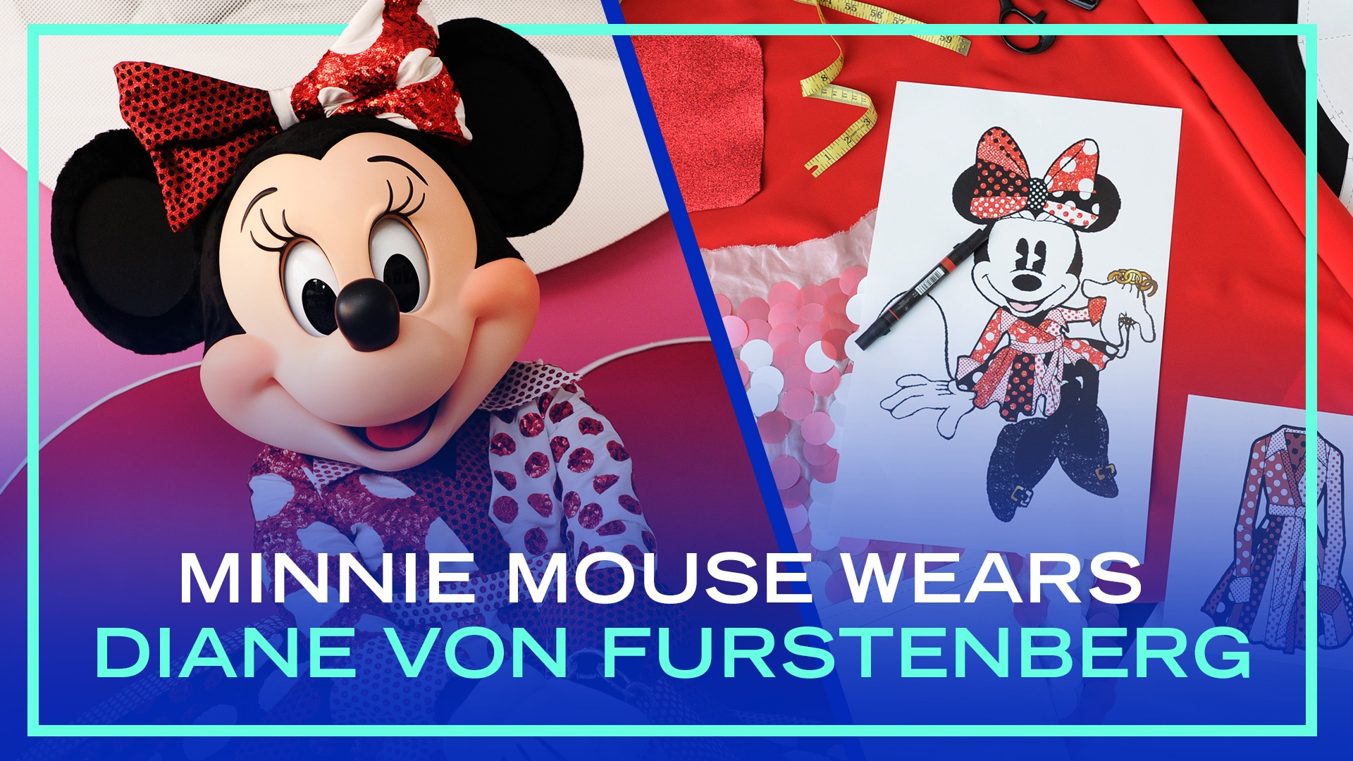 Minnie Mouse Wears Diane Von Furstenberg | Disney Style