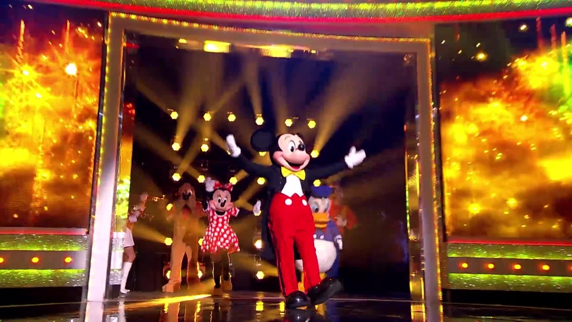 Ant & Dec's Saturday Night Takeaway Live Disney Clip