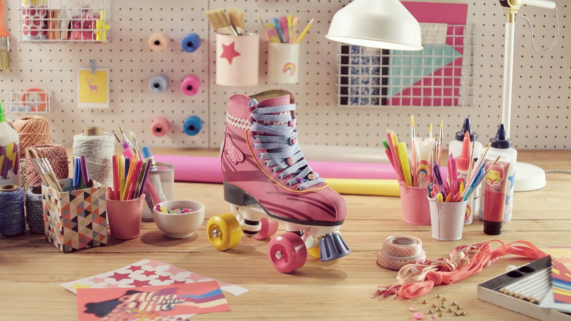 Soy Luna – Customiza tus patines – Look Luna