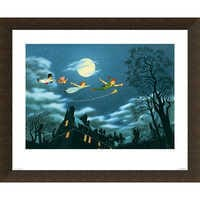 Image of Peter Pan ''And Away They Flew to Never Land'' Giclé # 5