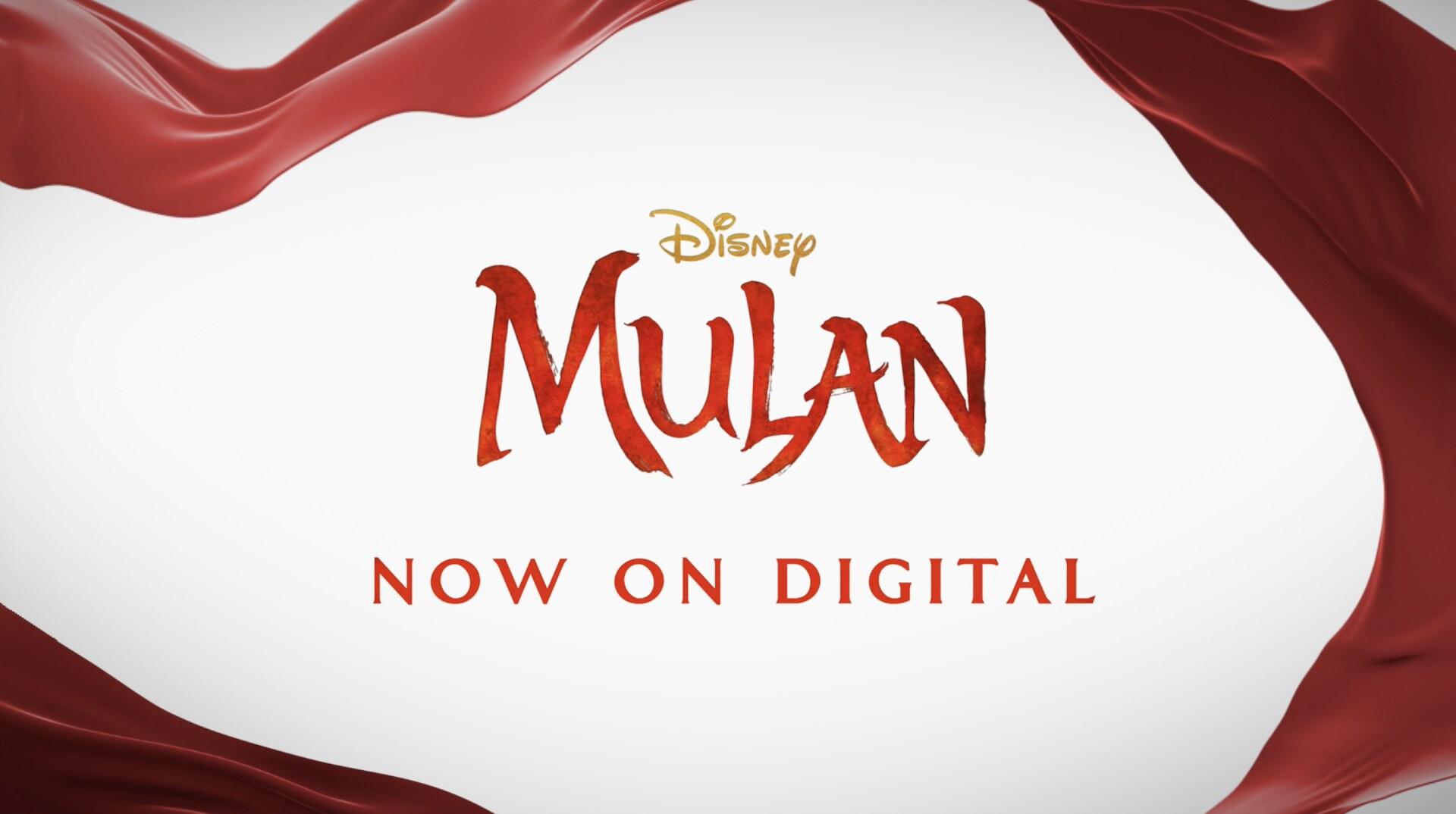 Disney's Mulan | Now on Digital
