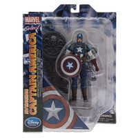 Image of Captain America Action Figure - Marvel Select - 7'' # 6