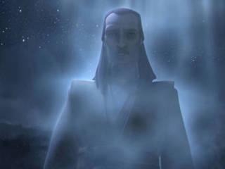 Qui-Gon's Spirit Visits Anakin