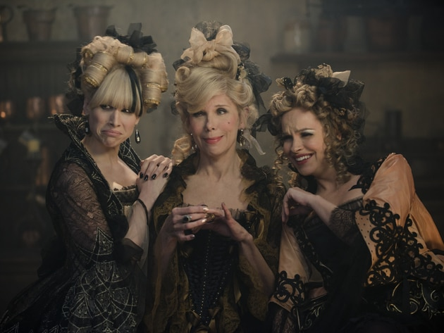 Lucy Punch, Christine Baranski and Tammy Blanchard bring Cinderella's evil stepsisters and stepmo...