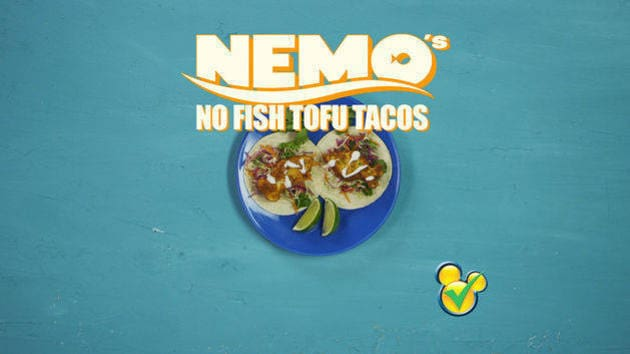 Dishes Inspired By Disney - Nemo's Tofu Tacos