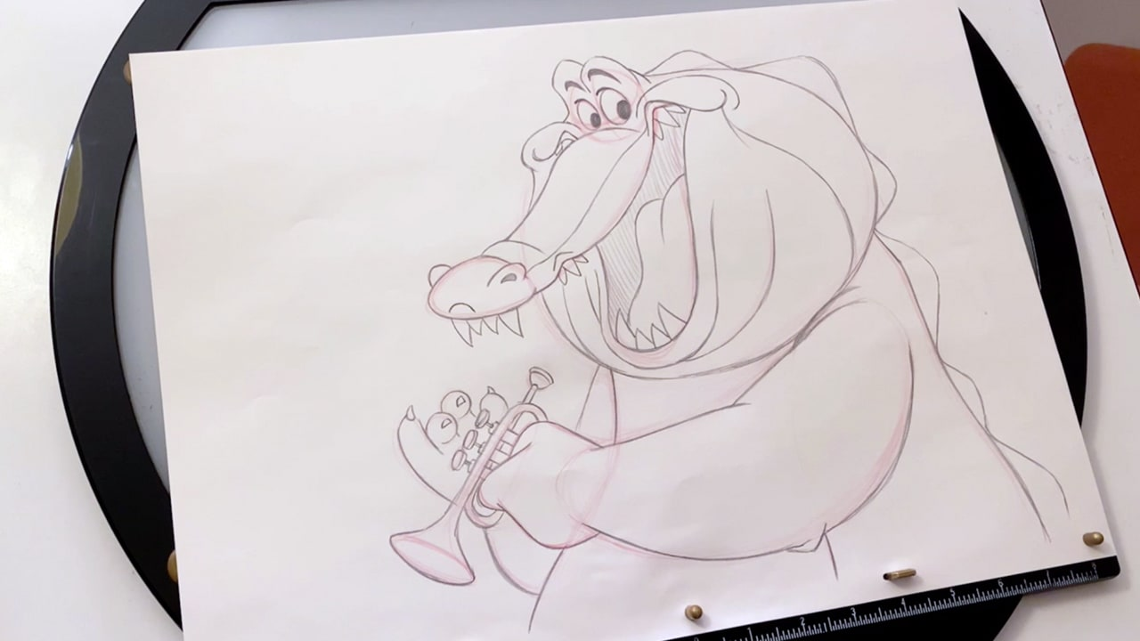 How to Draw Louis from The Princess and the Frog
