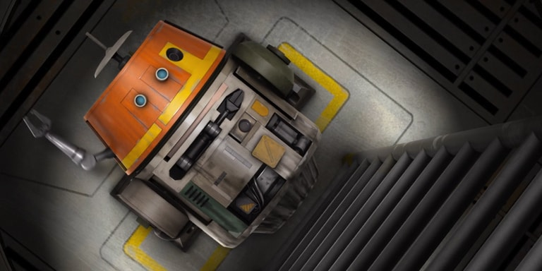 """Star Wars Rebels: """"The Machine in the Ghost"""" Short"""