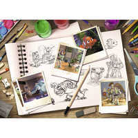 Image of PIXAR Sketch Puzzle by Ravensburger # 2