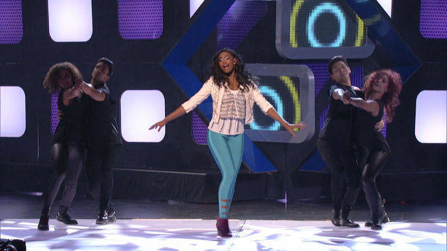 World is Dancing - Coco Jones at the RDMAs
