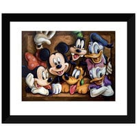 Mickey Mouse ''The Gang'' Giclée by Darren Wilson