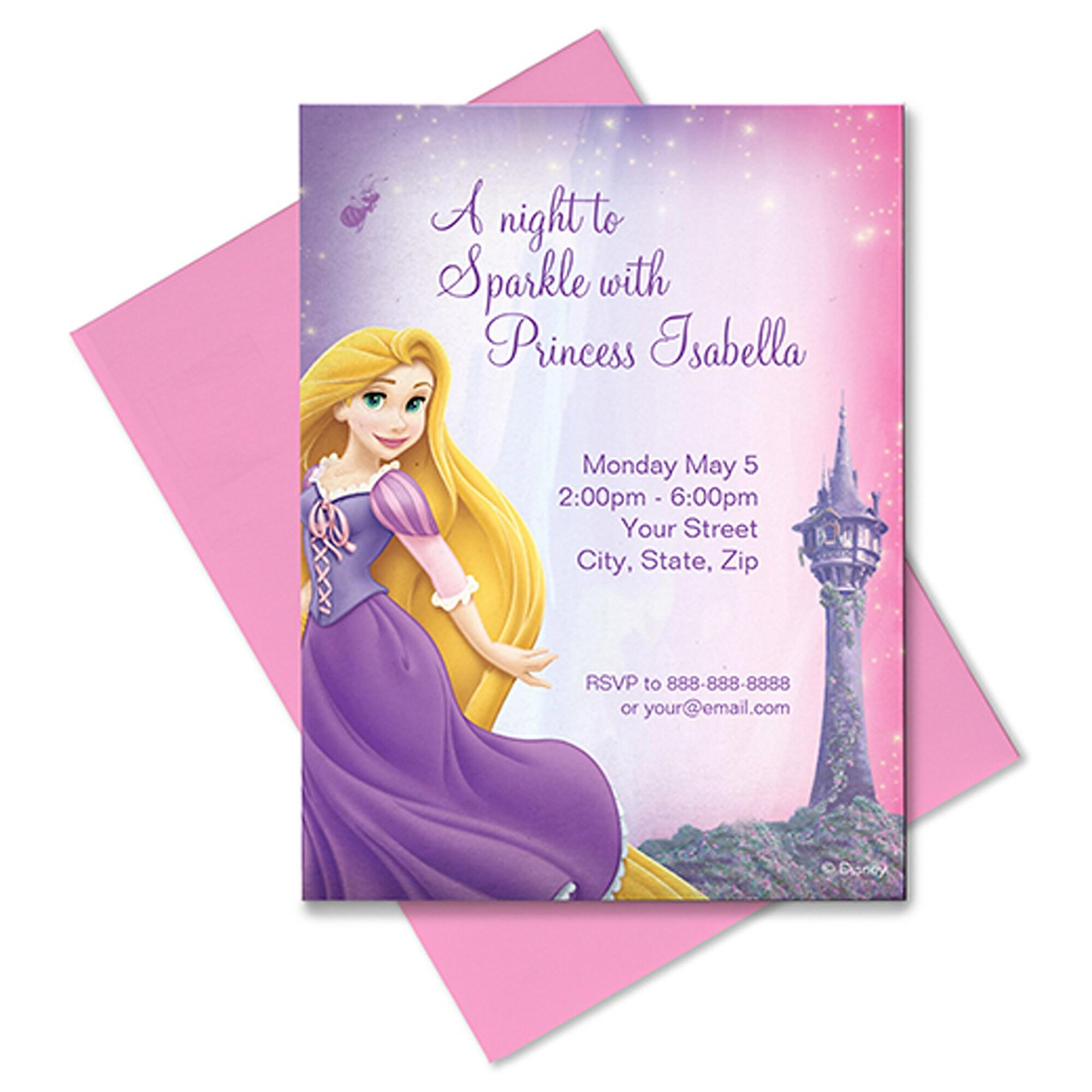 Rapunzel Invitation - Customizable