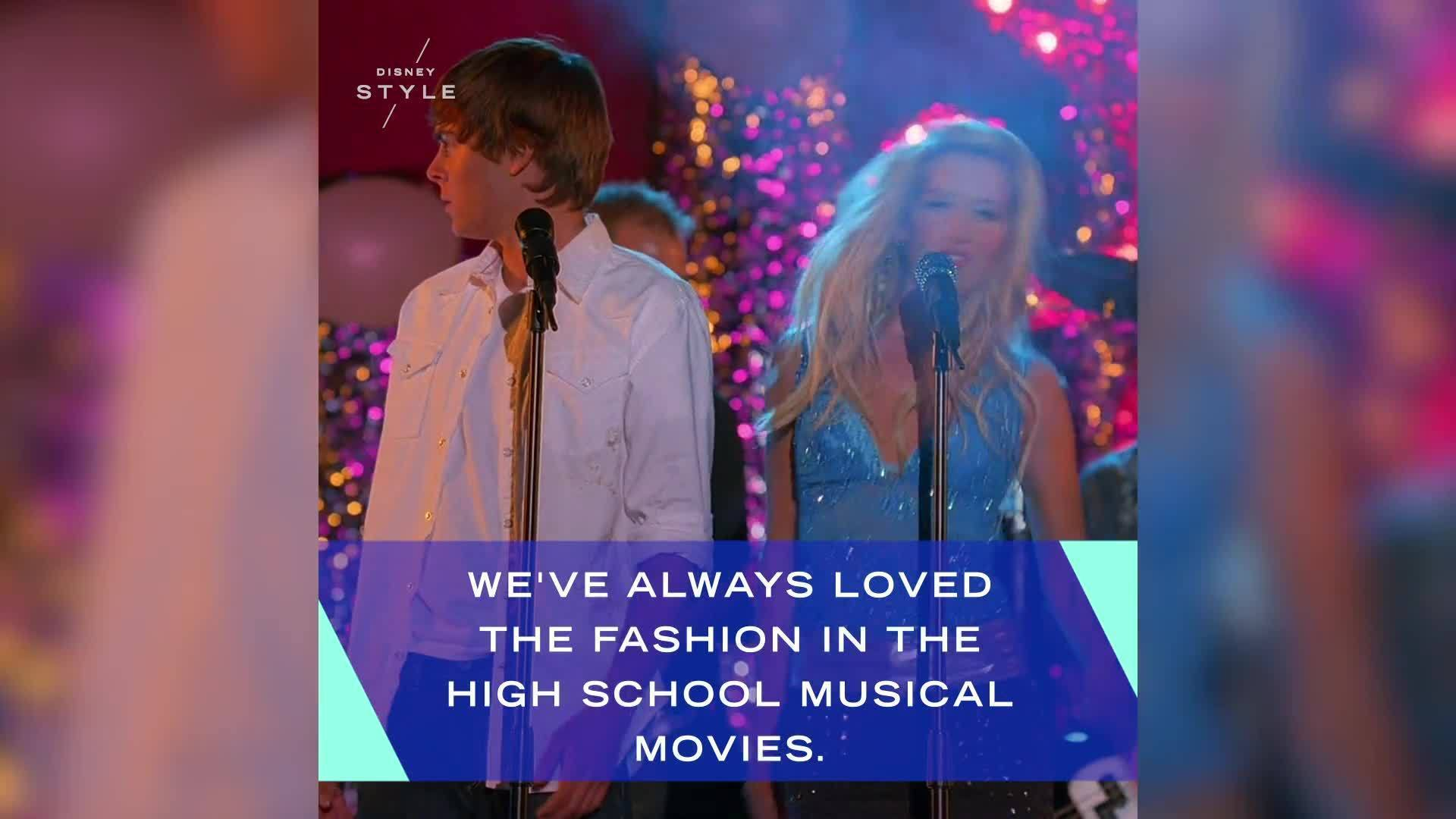 Top Fashion Moments From the High School Musical Films | Disney Style