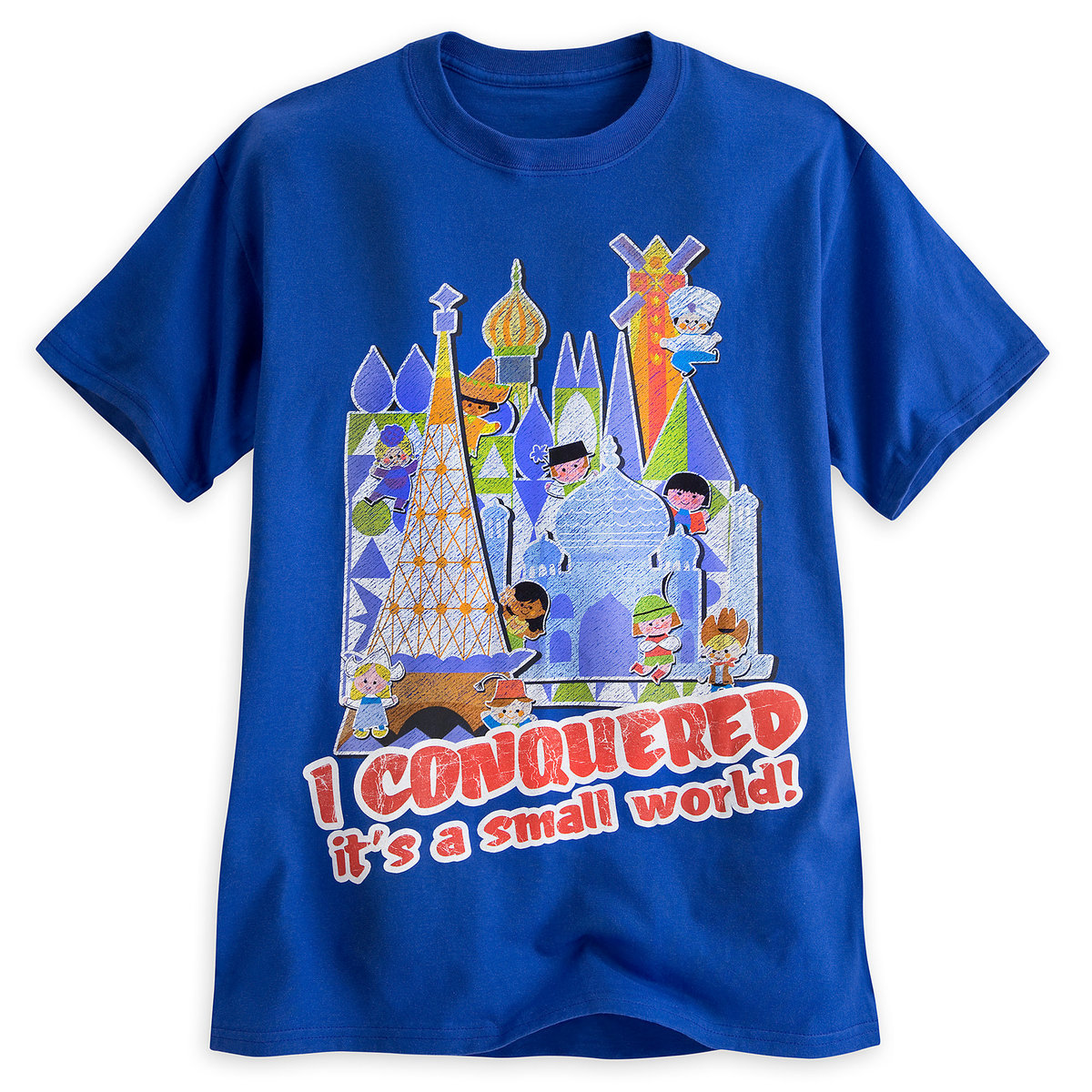 4b9e1e43 Product Image of ''it's a small world'' Tee for Adults # 1