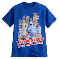 Image of ''it's a small world'' Tee for Adults # 1