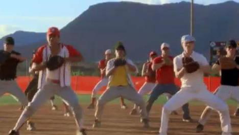 Clip - Baseball Dancing
