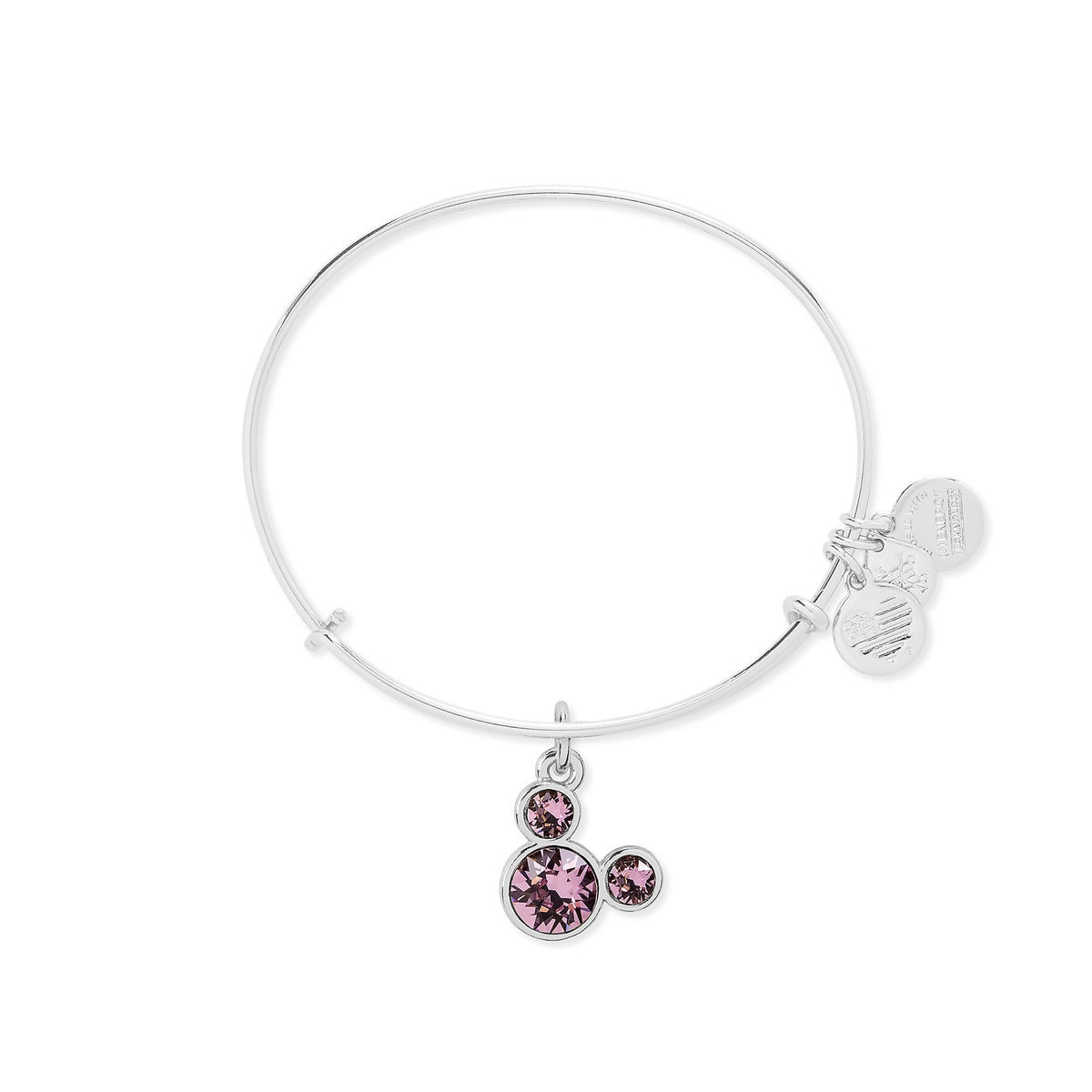 cedf0308f8 Product Image of Mickey Mouse Birthstone Bangle by Alex and Ani - June # 3