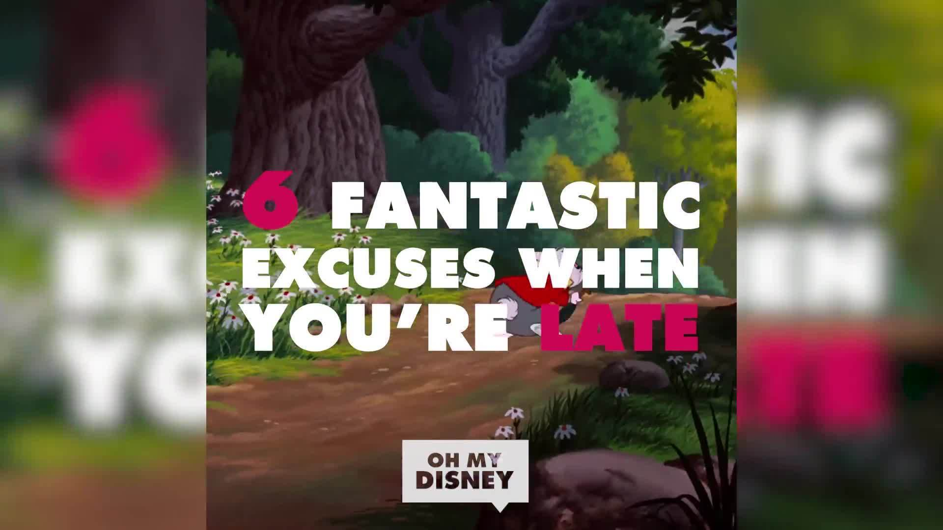 6 Fantastic Excuses When You're Late