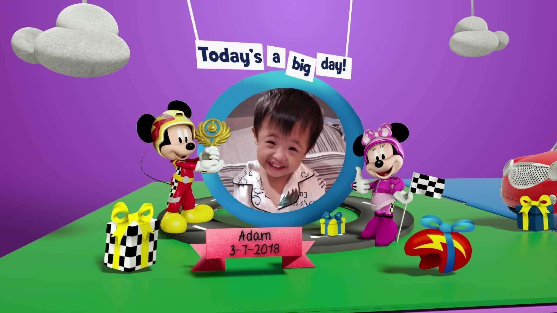 Disney Junior Birthday Book 2021 July Album 9