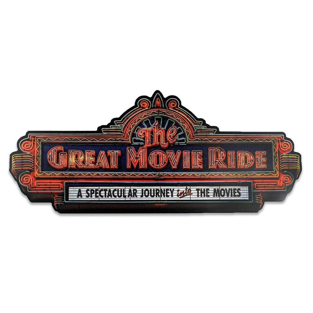 The Great Movie Ride Wall Sign Official shopDisney