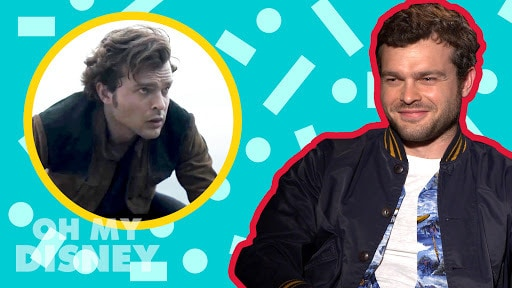Alden Ehrenreich on Becoming Han Solo | Oh My Disney Show by Oh My Disney