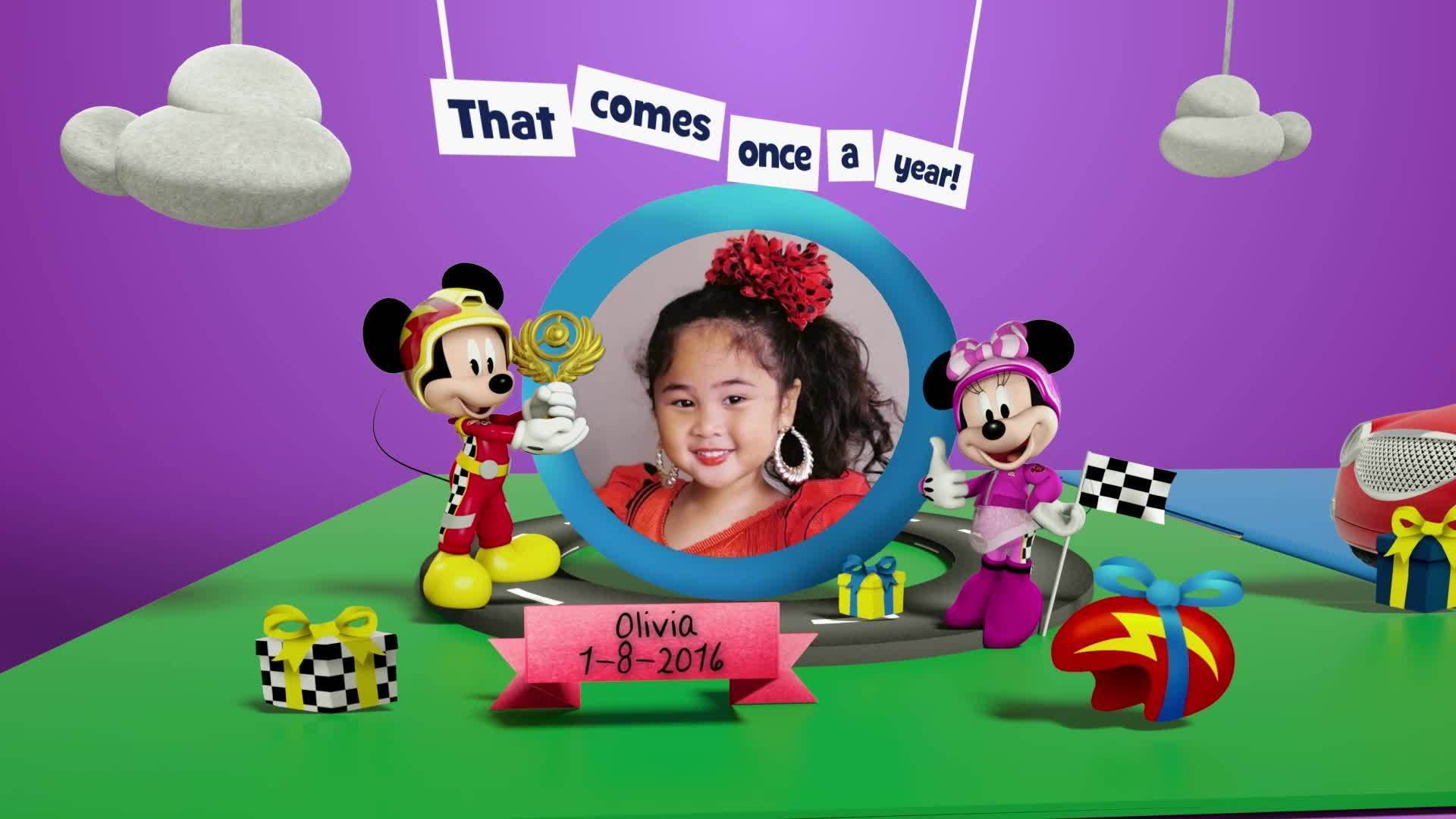 Disney Junior Birthday Book 2021 August Album 11