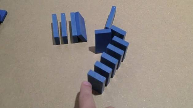 Domino Techniques and a 4,700 Piece Fall