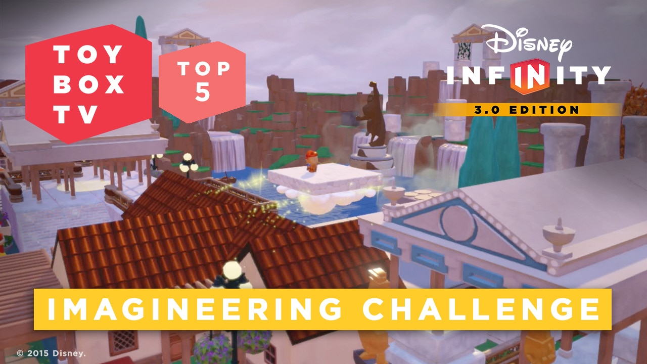 Imagineering Challenge - Top 5 Toy Boxes