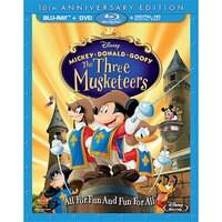 Mickey, Donald, Goofy: The Three Musketeers Blu-ray 10th Anniversary Edition