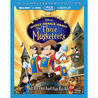 Image of Mickey, Donald, Goofy: The Three Musketeers Blu-ray 10th Anniversary Edition # 1