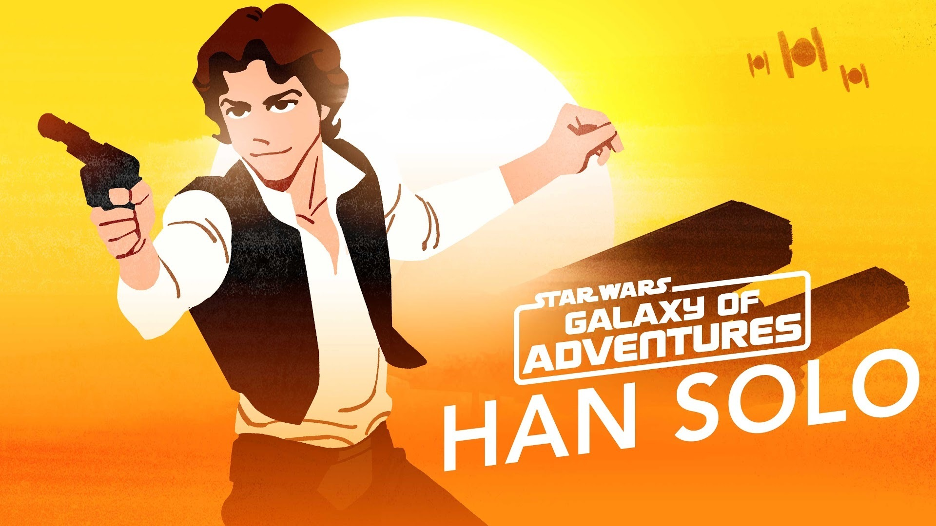 Han Solo – Galaxy's Best Smuggler | Star Wars Galaxy of Adventures