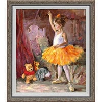 Winnie the Pooh and Pals ''My First Audience'' Giclée by Irene Sheri