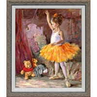 Image of Winnie the Pooh and Pals ''My First Audience'' Giclée by Irene Sheri # 1