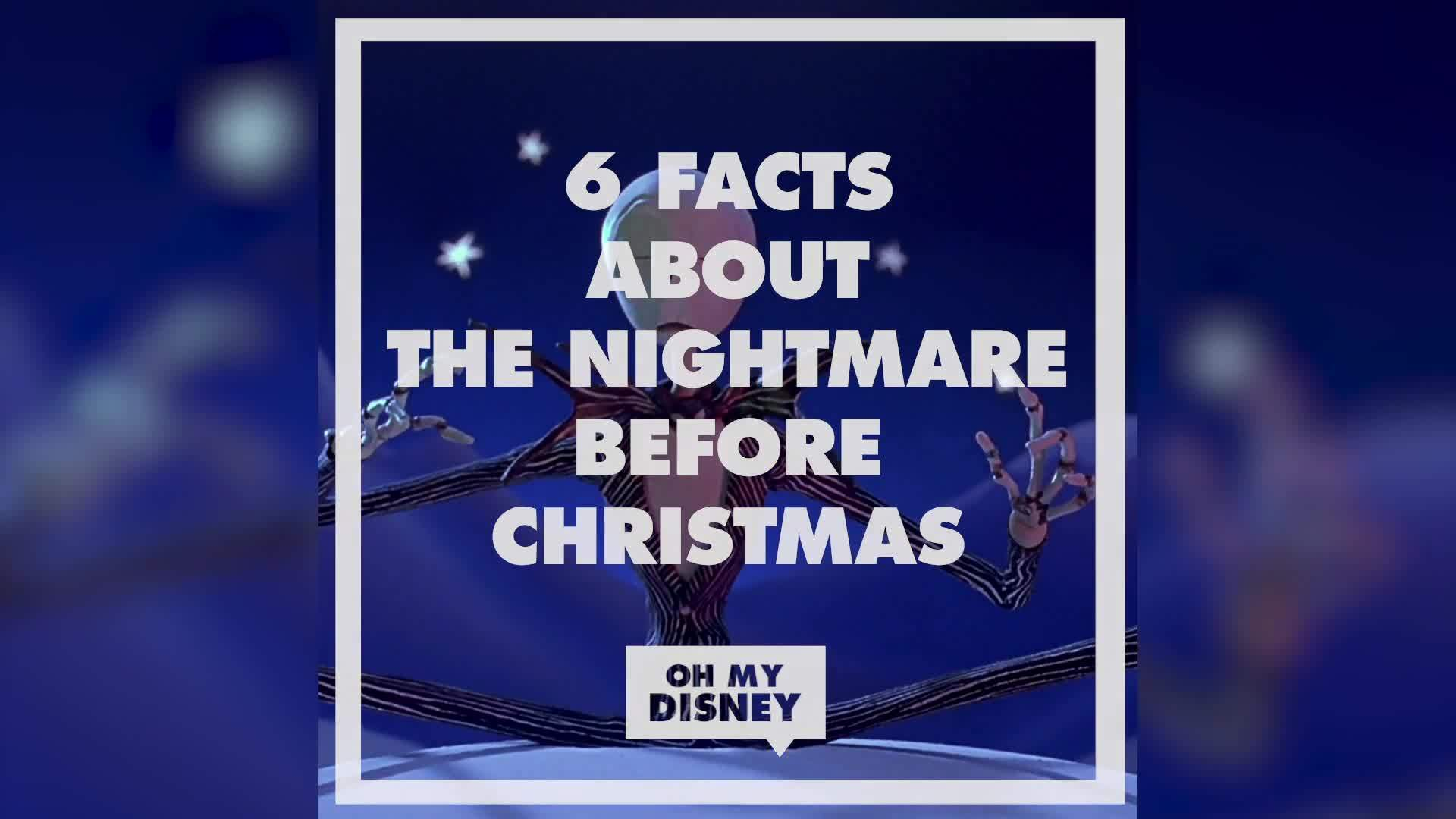 The Nightmare Before Christmas Facts | Oh My Disney