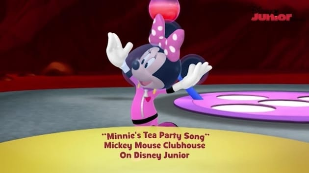 Minnie's Tea Party Song