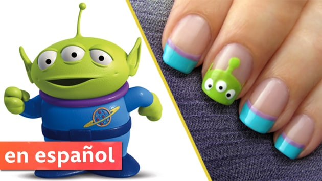 Diseño de uñas de extraterrestres de Toy Story (Toy Story Alien Nails) | Disney•Pixar